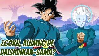 Goku es el Nuevo Alumno de Daishinkan-Sama   Super Dragon Ball Heroes