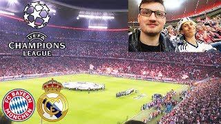 FC BAYERN - REAL MADRID | Champions League - Stadionvlog mit Madrid Fan