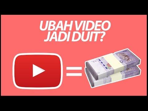 Youtube boleh buat duit ke?