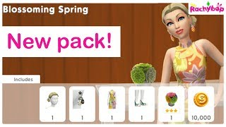 The Sims Mobile Blossoming Spring pack COMING SOON
