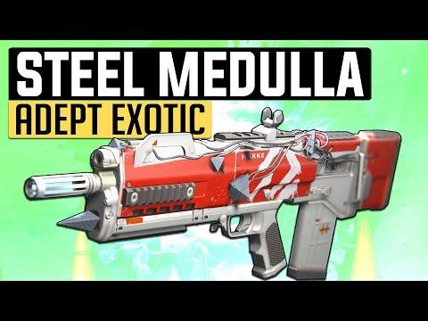 Destiny   FULL AUTO BEAST! - ((STEEL MEDULLA~)) The Adept Pulse Rifle in PvP! (Age of Triumph)