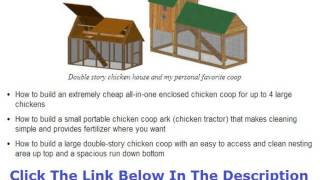 Build A Chicken Coop For Less Than $100 Discount + Bouns