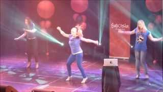 Valentina Monetta - The Social Network Song - Live - San Marino - Eurovision in Concert 2012