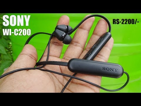 sony-wi-c200-bluetooth-earphone-review-|-premium-budget-earphone