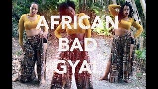 AFRICAN BAD GYAL - choreography by @GEISHARENE