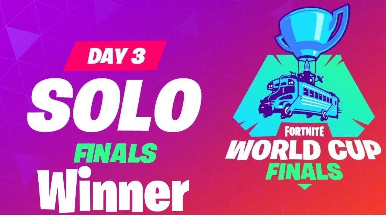 2019 FORTNITE WORLD CUP SOLO WINNER!!! (Bugha)