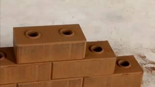 FL2-10 compressed earth interlocking brick making machine
