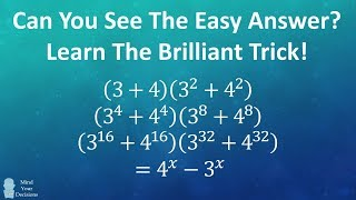 Can You Find The Easy Answer? Learn The Brilliant Trick!