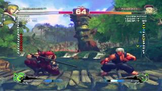 Ultra Street Fighter IV battle: Ken vs Rolento