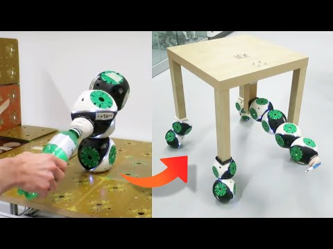 Watch these modular robots transform into a chair