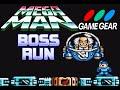 Mega Man (Game Gear) - Boss Run (No Damage, Buster Only)