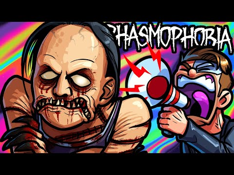 Phasmophobia Funny Moments - We're Too Pro at Ghost Hunting!