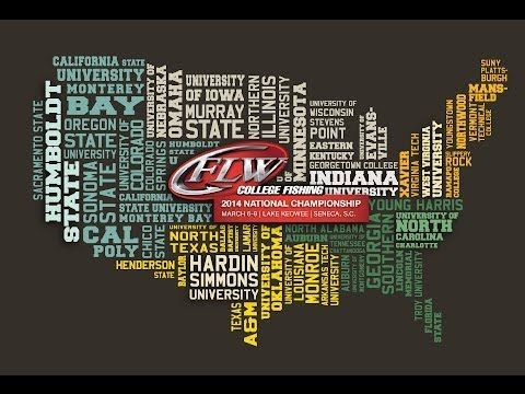 2014 FLW College Fishing | National Championship | Day 3 Weigh-in