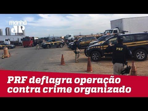 PRF deflagra operação contra crime organizado no terminal de cargas Fernão Dias, em SP