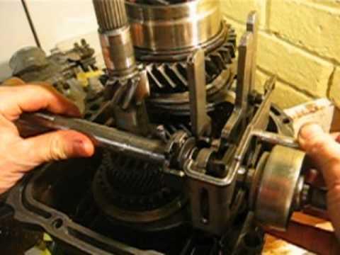 interlock mechanism   gearbox   vw type youtube