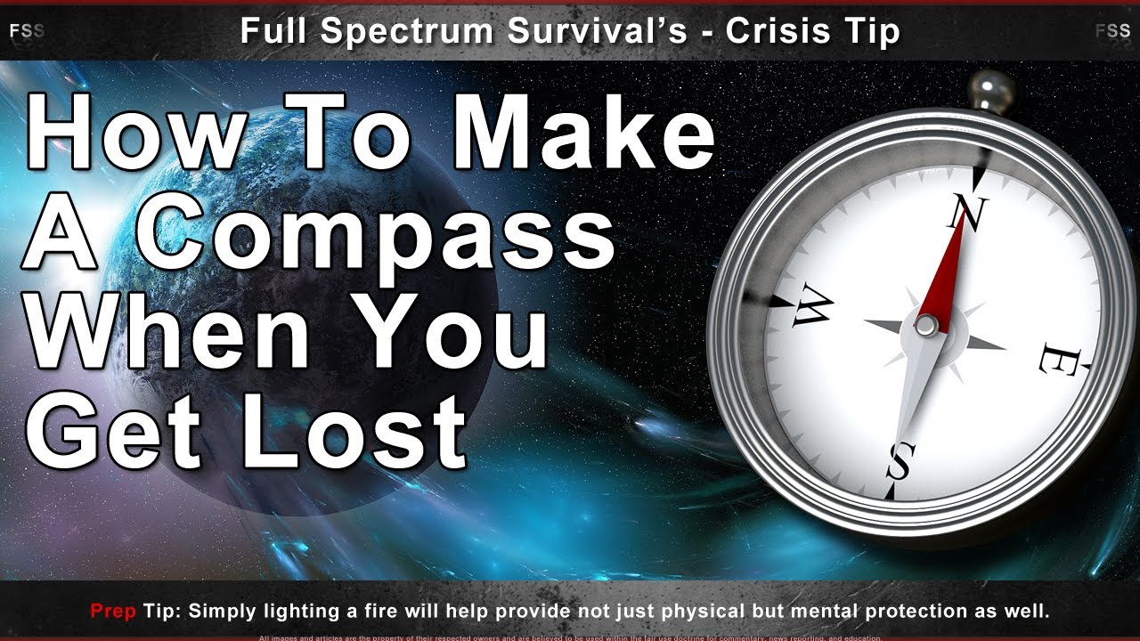 How to make a compass 10