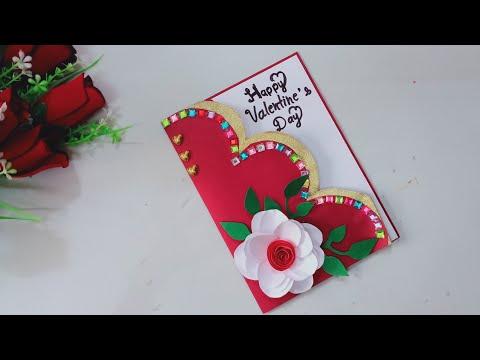 valentines day card/valentine cards/handmade easy/love greeting cards latest design handmade