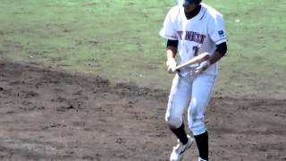 外野手 175センチ75キロ 右・左/1989年6月1日生まれ vs三菱重工三原@坊...
