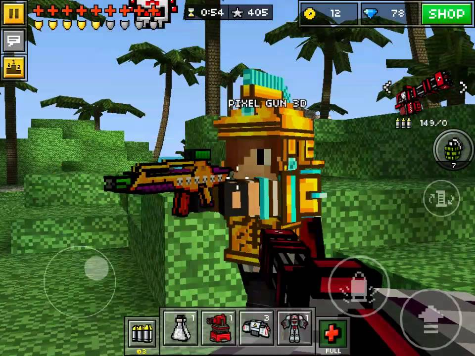 How To Make A Blaziken Skin In Pixel Gun D YouTube - Skins para minecraft pe greninja