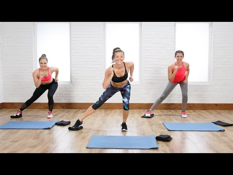 20-Minute Flat Belly and Tight Legs Toning Workout Using Gliders | Class FitSugar