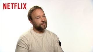 The Irishman's Stephen Graham on Working With Scorsese | Netflix