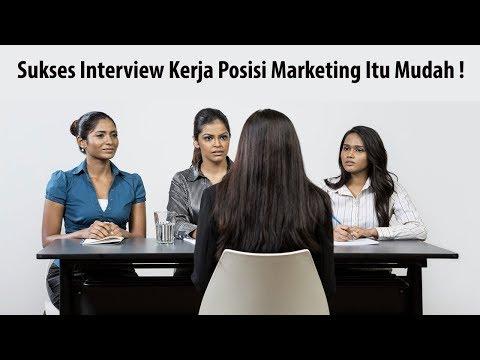 #CaraProfesional menjawab pertanyaan interview kerja Digital Marketing