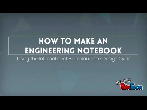 Team 4442X's Guide On How To Make An Amazing Engineering Notebook