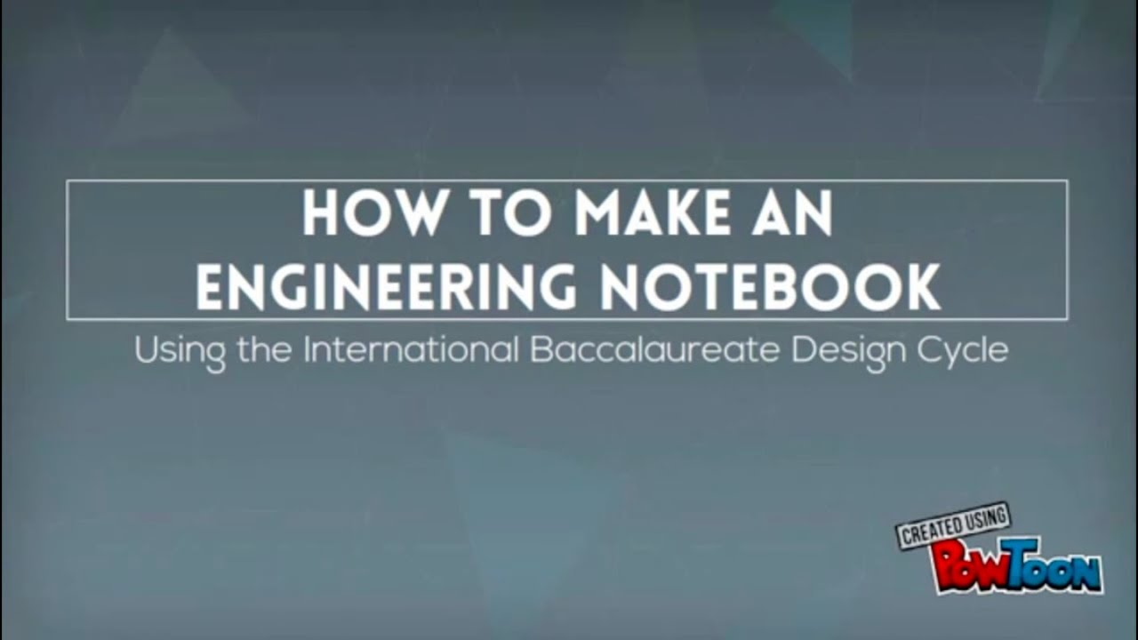 Team 4442x S Guide On How To Make An Amazing Engineering Notebook