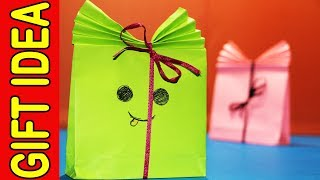Christmas Gift - How to Make Cheap Paper Gift Bags Idea.