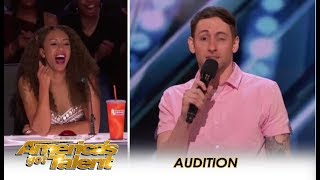 Samual Comroe: HILARIOUS 'Twitchy' Comedian With Tourette Syndrome | America's Got Talent 2018