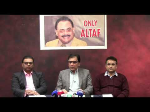 Press Conference of Coordination Committee of MQM held on 29 April 2017