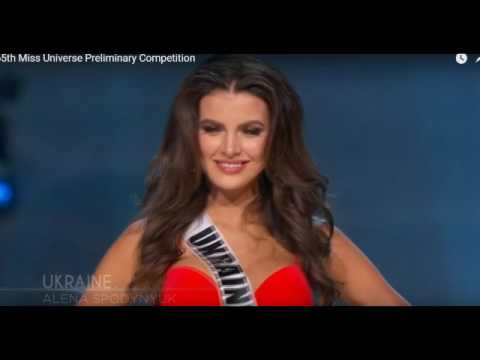 Miss Universe 2016/2017 - Preliminary Competition - UKRAINE
