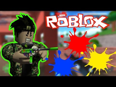 Boya Savaslari Roblox Mad Paintball 2 Roblox Turkce Youtube