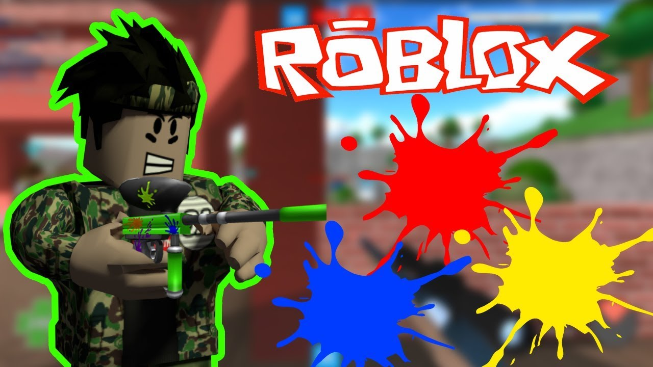 Boya Savaşları Roblox Mad Paintball 2 Roblox Türkçe Youtube