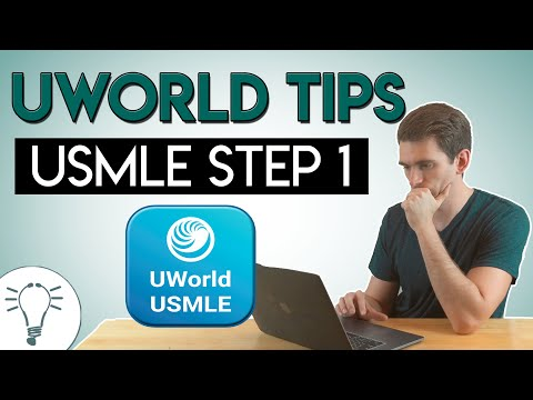 UWorld Tips for USMLE Step 1 - YouTube