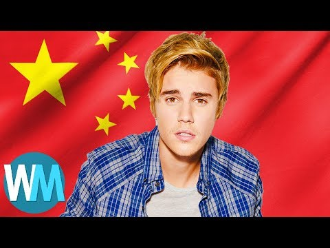 Top 10 Celebrities Banned from China