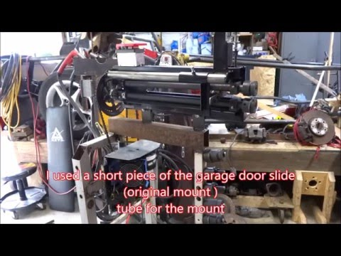 Harbor Freight bead roller, garage door opener, electric drive