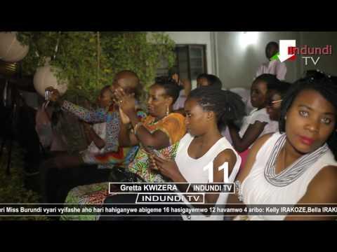 #INDUNDI TV AMAKURU #MISS BURUNDI Demi finale