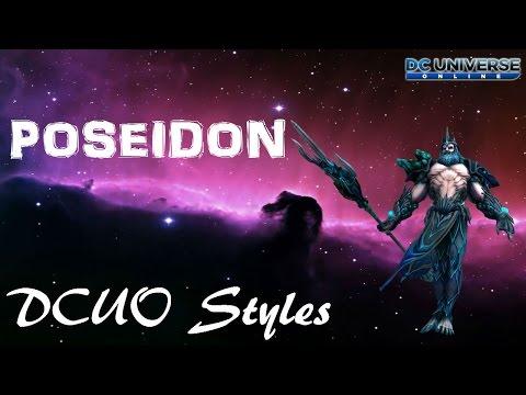 DCUO Style: Poseidon