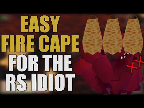Easy Fire Cape For The RuneScape Idiot