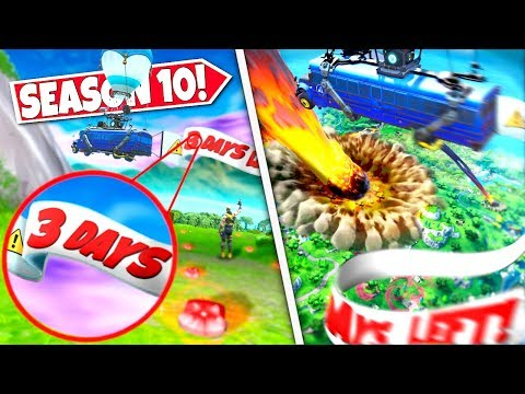 *NEW* RESCUE BATTLE BUS *SPOTTED* CIRCLING AROUND ISLAND WARNING OF ROCKET ISLAND DESTRUCTION EVENT!