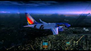 FSX | PMDG 737 NGX | Landing at Chicago