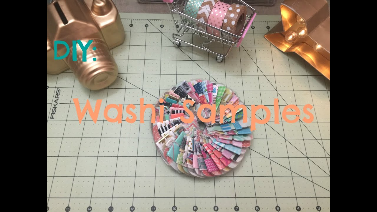 DIY: Washi Samples - YouTube