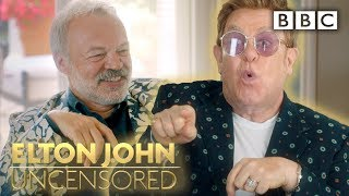 Elton John stuns Graham with juicy details on his fiercest rivalries | Elton John: Uncensored - BBC