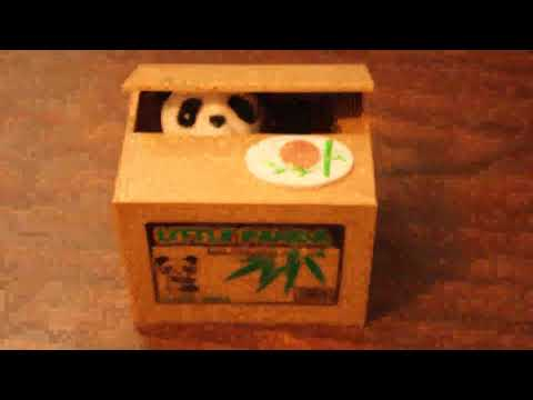Cute interactive piggy bank, Stealing Coin Money Box HmiL U Automatic Stealing Coins Cents Penny Cat