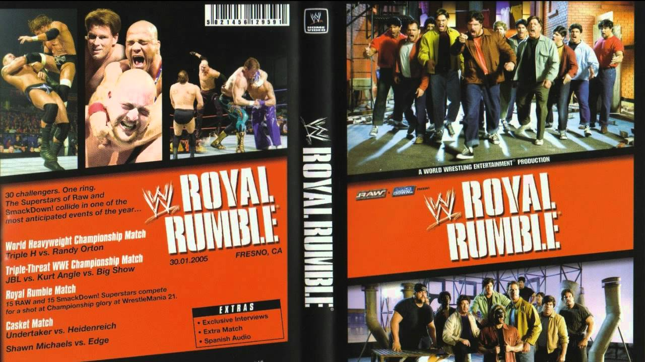 Wwe Royal Rumble 2005 Theme Song Fullhd