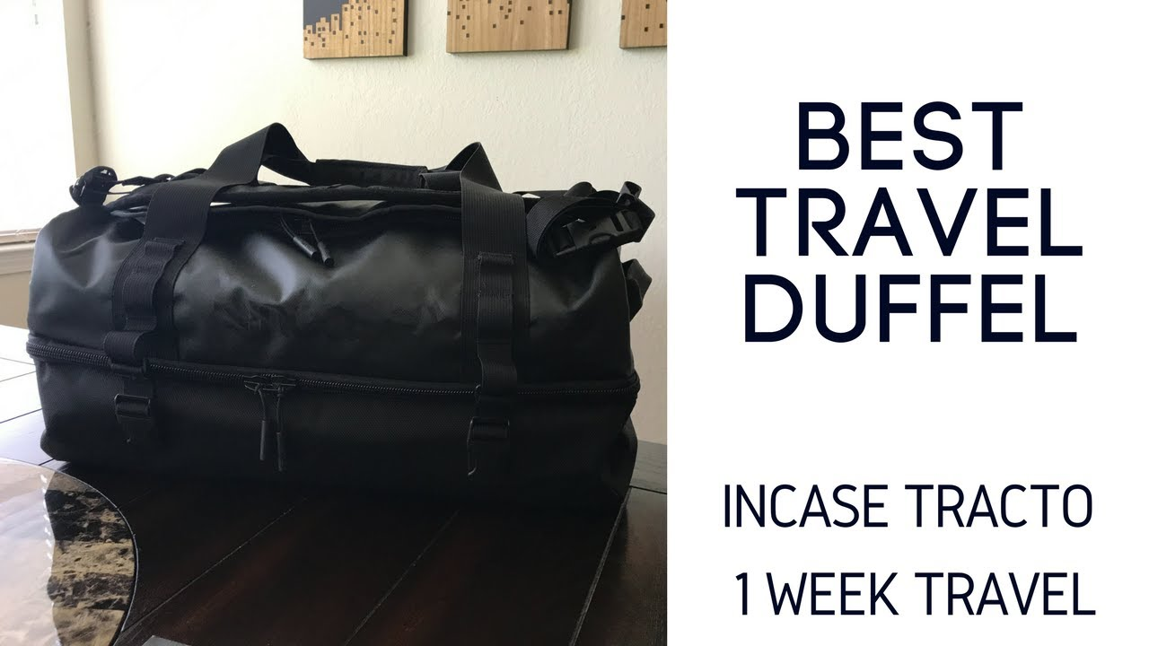 Best Travel Bags  Incase Tracto Split Duffel Follow Up - YouTube 6871d851a041a