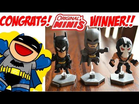 Contest Winner! DC Comics Batman Original Minis Giveaway - Blind Bag Figures