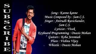 Kanne Kanne Full lyrics Song | Ayogya |