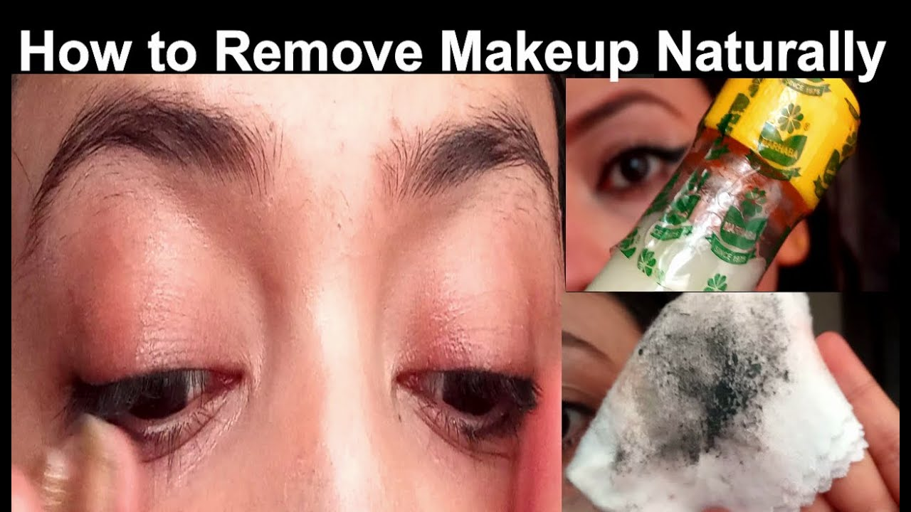 How To Remove Makeup Naturally Without Makeup Remover Professional Makeup Course Online Youtube